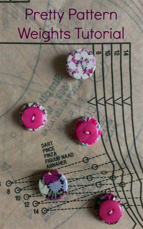 pattern weights sewing pretty pattern weights tutorial costura tela and tutorials