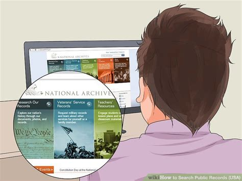 Records Usa Free Search 5 Ways To Search Records Usa Wikihow
