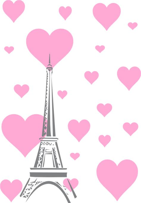 wallpaper bergerak menara eiffel hearts eiffel tower clip art at clker com vector clip