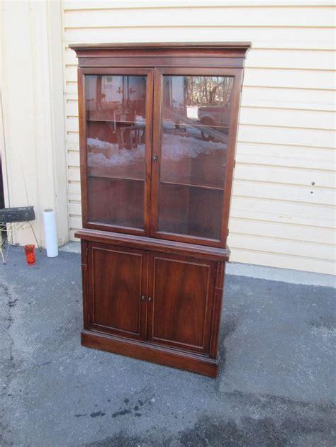 antique mahogany china cabinet 55208 antique mahogany china cabinet curio chippendale
