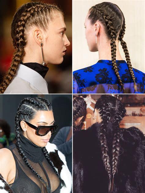 zendaya one sided braid by kim kimble kim kardashian s braids get the look seen at new york