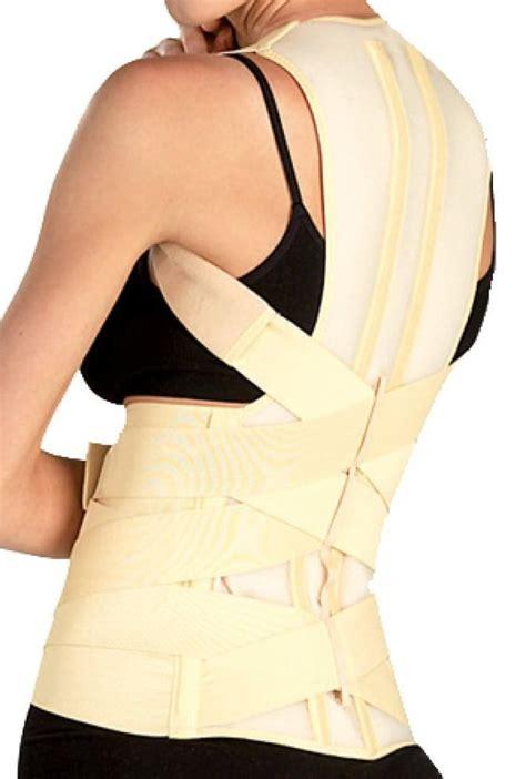 back brace tonus elast posture corrector lumbar support shoulder back brace scoliosis ebay