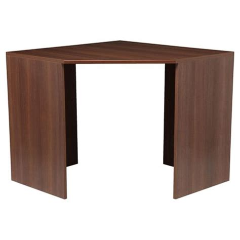 Walnut Corner Desk Buy Como High Gloss Corner Desk Walnut From Our Office Desks Tables Range Tesco