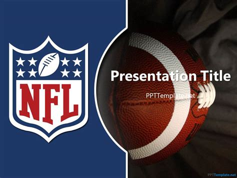 football themed powerpoint 2007 free nfl ppt template