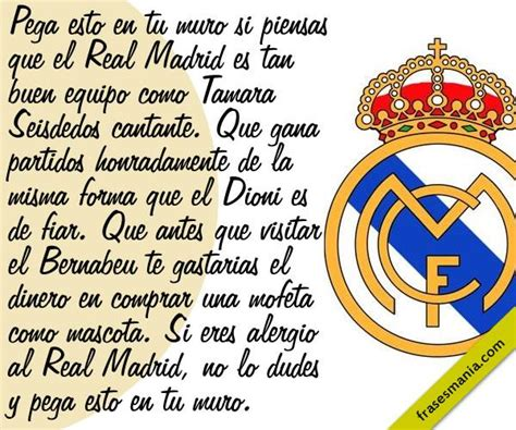 imagenes del real madrid y frases real madrid para facebook imagui