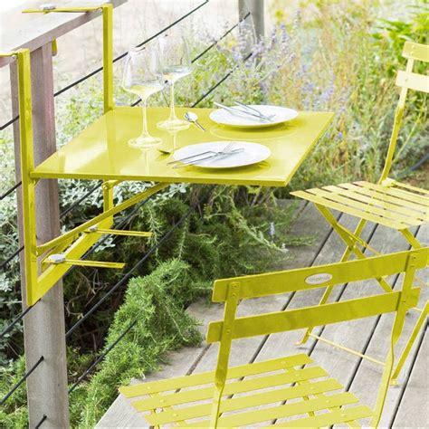 tavolo per balcone tavolo da ringhiera pieghevole balcone baltra 60 x 53 cm
