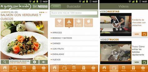 nestl cocina las 6 mejores aplicaciones android de recetas de cocina