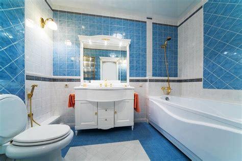 Kitchen Accessories Design blue white bathroom interior design ideas