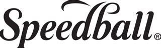 speedball logo grabado