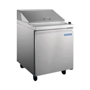 norpole sandwich salad prep 6 cu ft commercial