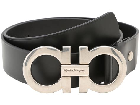 Salfatore Ferragamo salvatore ferragamo adjustable belt at luxury zappos