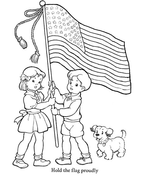 patriotic coloring pages preschool veterans day coloring pages hold the flag proudly