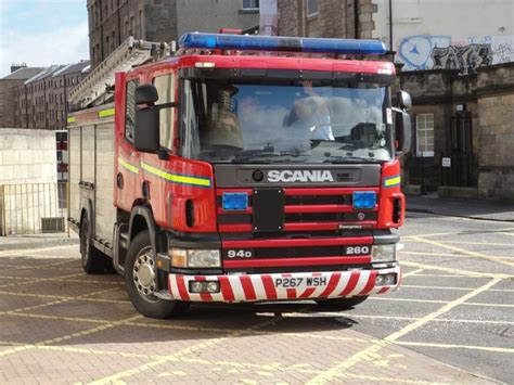 engines photos scania 94d emergency one at toll