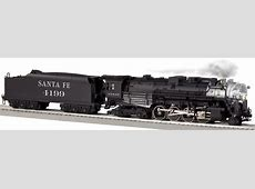 Santa Fe LEGACY Scale 2-8-4 Berkshire Steam Locomotive #4199 Lionel Nickel Plate Road Berkshire