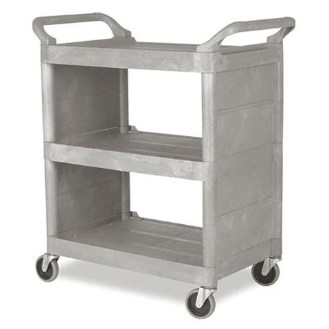 Kitchen Utility Carts by Rubbermaid Fg335588plat Rubbermaid Fg335588 Kitchen