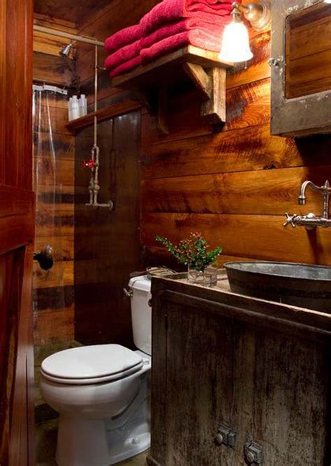 Rustic Bathroom Ideas For Small Bathrooms | 30 inspiring rustic bathroom ideas for cozy home amazing