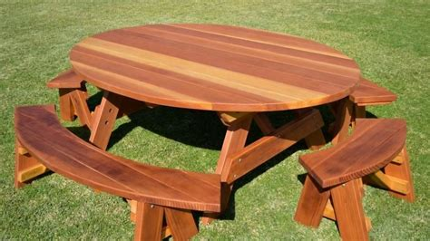 Pramesti Set by Wooden Picnic Benches Table Garden Set