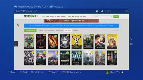 film streaming ps4 how to watch free movies on ps4 full hd movies 2018
