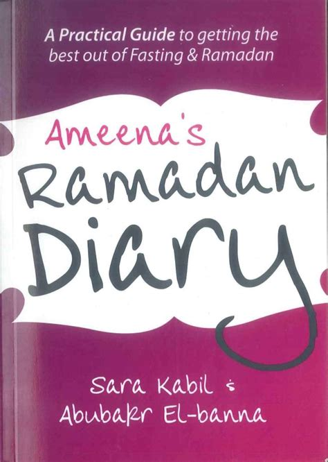 Diari Ramadhan 1 ameena s ramadan diary idci
