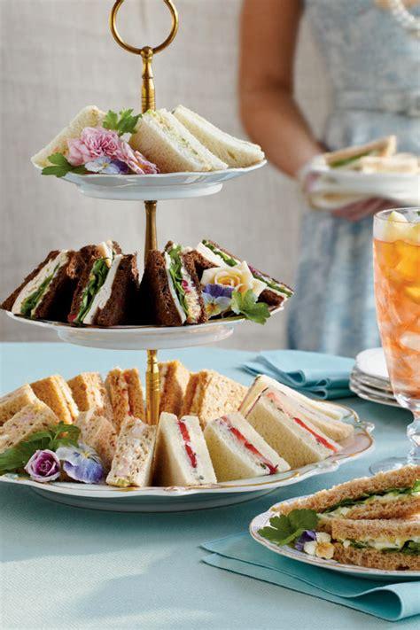 Bridal Shower Sandwich Ideas by Crowd Pleasing Tea Sandwiches Easy Tea