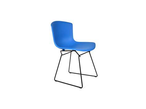 Knoll Bertoia Side Chair Buy The Knoll Bertoia Plastic Side Chair Black Base At Nest Co Uk