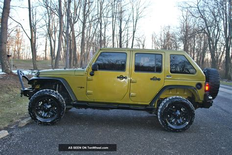 4 Door Jeep Wrangler by 2008 Jeep Wrangler Fastback 4 Door