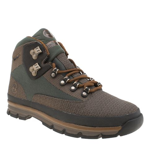 timberland boots for clearance sale mens green timberland hiker mid jacquard boots
