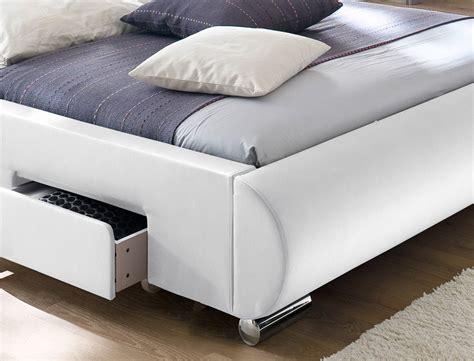 Günstige Betten Mit Lattenrost Und Matratze 180x200 by Polsterbett Lando Bett 180x200 Cm Wei 223 Mit Lattenrost Und