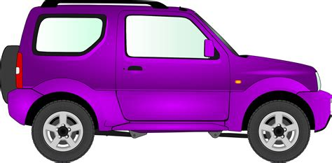 car clipart purple car clip pixshark com images galleries