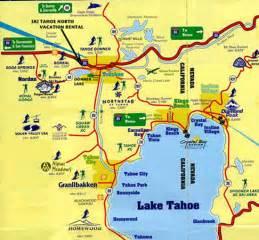 truckee california map location of ski ride lake tahoe truckee vacation