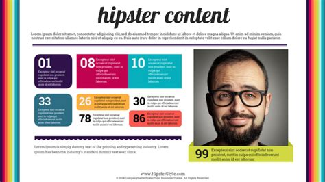 powerpoint themes hipster hipster creative powerpoint presentation template by