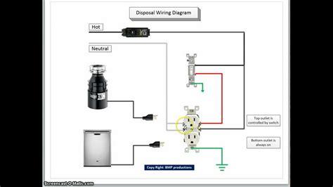 garbage disposal dishwasher wiring free wiring