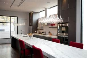 long white marble island kitchen just decorate