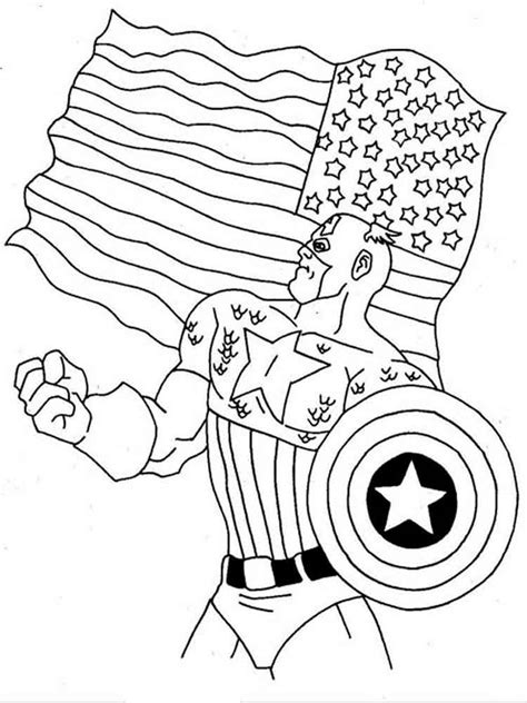 america coloring pages captain america coloring pages and print captain