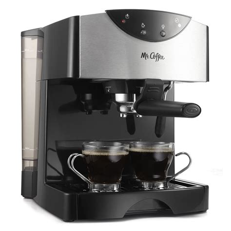 espresso maker mr coffee 174 espresso maker ecmp50 rb at mrcoffee com