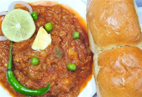 alimentazione in india pav bhaji immagine stock immagine di alimentazione india