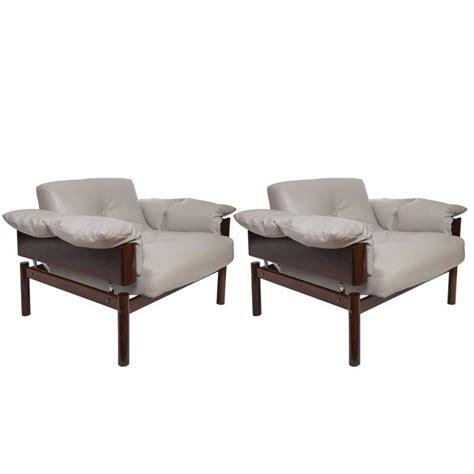 brazilian furniture pair of percival lafer brazilian jacaranda lounge chairs