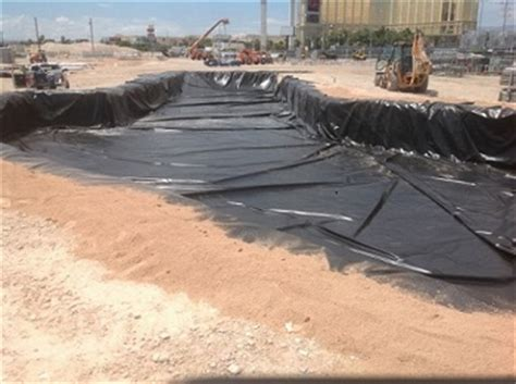 custom pit liners for water chemical or fuels