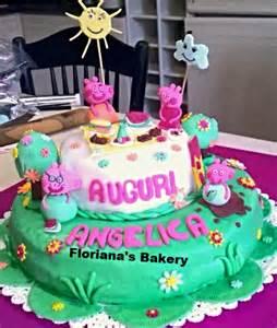 Cake torta peppa pig george famiglia pig pap 224 pig auguri compleanno
