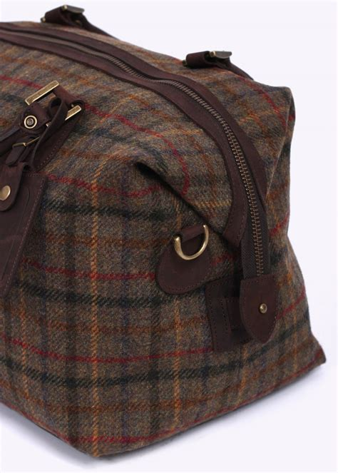 Tweed Corsage Bag From Accessorize by Barbour Tweed Explorer Bag Olive