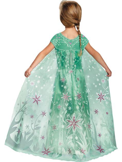 girls elsa frozen fever deluxe costume  girls