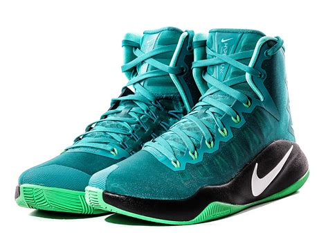 basketball shoes nike hyperdunk nike hyperdunk 2016 basketball shoes 844359 313 zielony