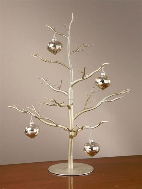antique silver ornament tree 26 quot h jewelry display stand