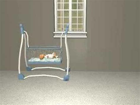 sims 2 baby swing crib swing for sims 2 youtube