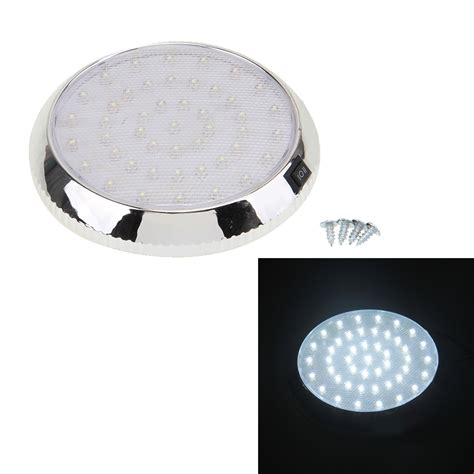 Ceiling Reading Light Car Vehicle 46 Led Interior Indoor Roof Ceiling Dome Light White Reading L Ebay
