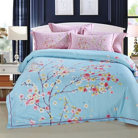 Cherry Blossom Bedding Set Popular Cherry Blossom Bedding Buy Cheap Cherry Blossom Bedding Lots From China Cherry Blossom