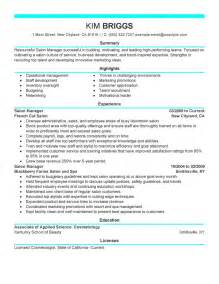Resume Sles For Estheticians by Big Salon Spa Fitness Exle Modern 6 Design