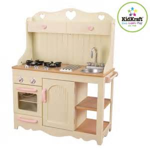wood play kitchen kidkraft prairie wooden play kitchen