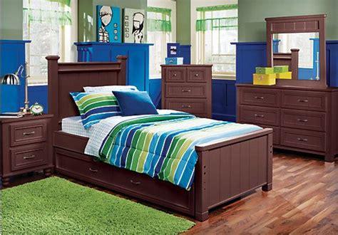 Bedroom Furniture In Espresso Colors Shop For A Cottage Colors Espresso 5 Pc Panel Bedroom