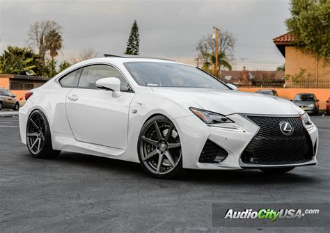 lexus rc modified lexus rc f custom wheels vertini dynasty 20x9 0 et tire
